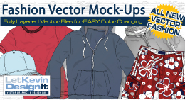 Vector Fashion Mock-Ups