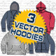 Hooded Sweatshirts Vector Template - GraphicRiver Item for Sale