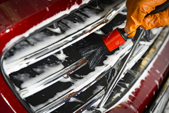 Car Detailing Cleaning - Stock Photo - Images