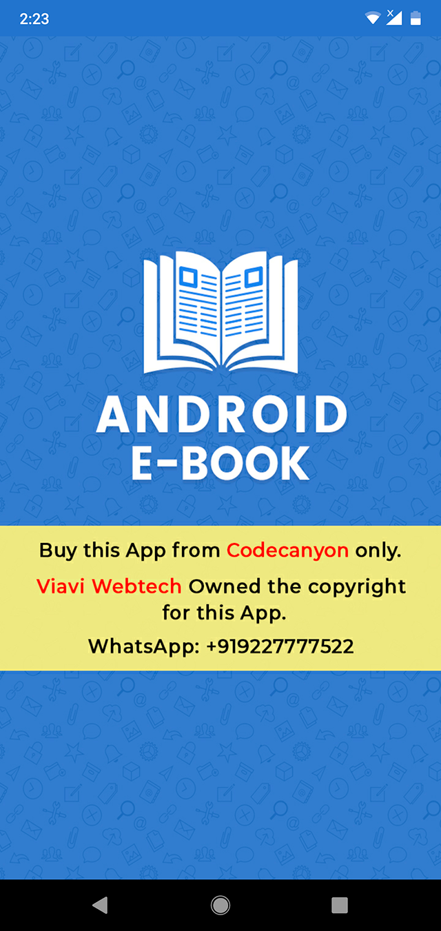 Android EBook App (Books App, PDF, ePub, Online Book Reading