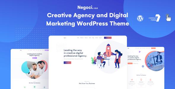Super Negoci Creative Marketing Theme