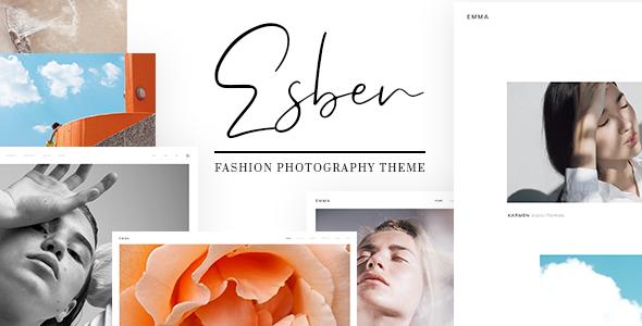 Esben - Elegant Fashion Photography Theme