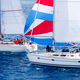 Brindisi, Italy - 06.16.2019: Sailing yachts during regatta  Brindisi Corfu - PhotoDune Item for Sale