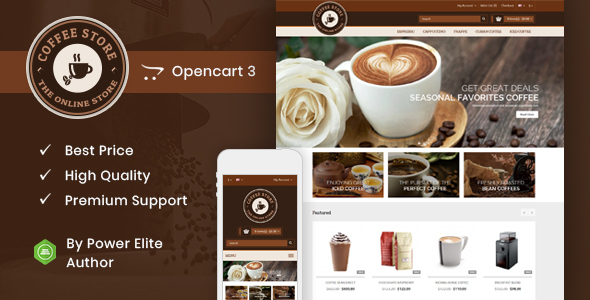 Coffee - Opencart Responsive Theme
