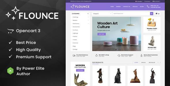 Flounce - Multipurpose OpenCart Theme