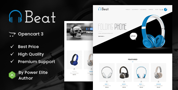 Beat - Multipurpose OpenCart 3 & 2 Theme