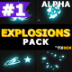 Cartoon Explosion Elements | Motion Graphics Pack - VideoHive Item for Sale