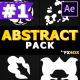 Abstract Shapes Pack | After Effects - VideoHive Item for Sale