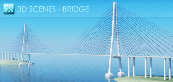 Bridge - 3DOcean Item for Sale