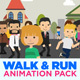 Walk & Run Cycle - VideoHive Item for Sale