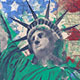 United States of America History 4K Intro/ American Flag/ Moon Landing/ Civil War/ Statue of Liberty - VideoHive Item for Sale