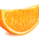 Slice of orange isolated on white background - PhotoDune Item for Sale
