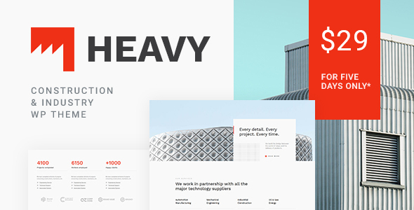 Heavy - Construction & Industrial Theme