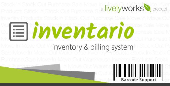 Inventario - Inventory & Billing Management Application