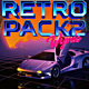 Retro Future Background Loops 2 - VideoHive Item for Sale