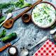 Okroshka,cold summer soup - PhotoDune Item for Sale