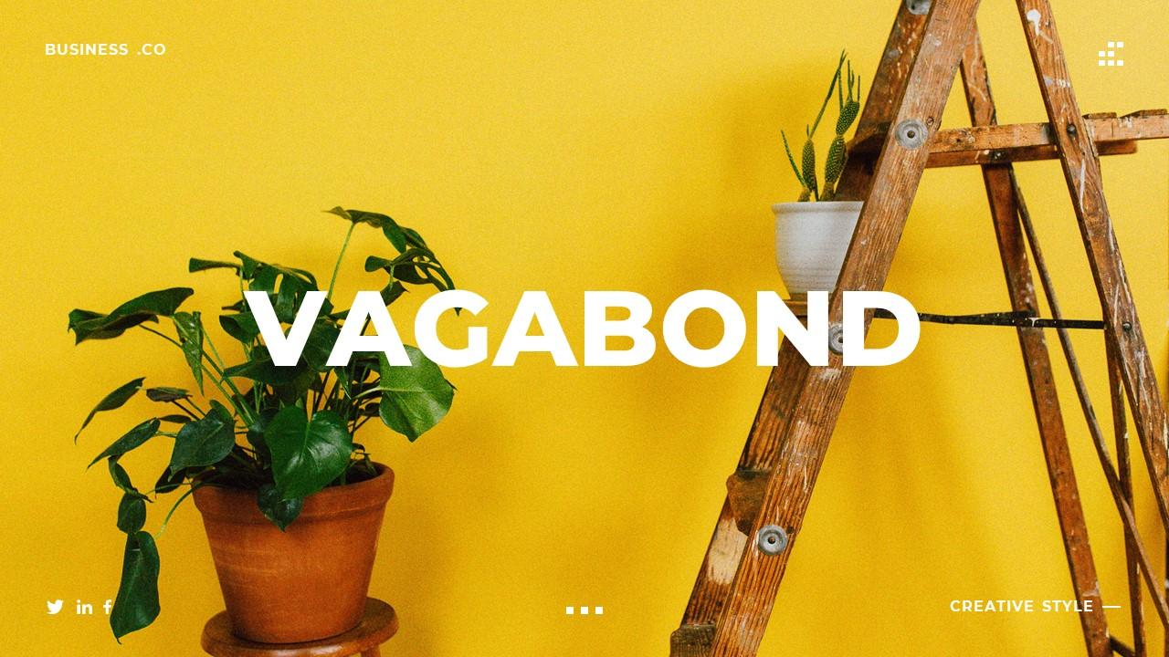 Vagabond - Creative & Business Google Slides Template