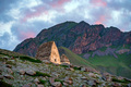Medieval tombs in City of Dead near Eltyulbyu, Kabardino-Balkaria, Russia - PhotoDune Item for Sale