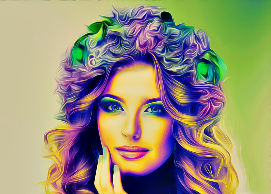 4D Light  Painting Effect