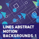 Lines Abstract Motion Backgrounds 2 - VideoHive Item for Sale