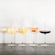 Variety of wine types over concrete table, copy space - PhotoDune Item for Sale