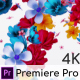 Flowers Logo Reveal - Premiere Pro - VideoHive Item for Sale