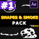 2D Shapes And Smoke | After Effects - VideoHive Item for Sale