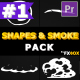 2D Shapes And Smoke | Premiere Pro MOGRT - VideoHive Item for Sale