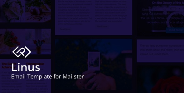 Linus - Email Template for Mailster by EverPress