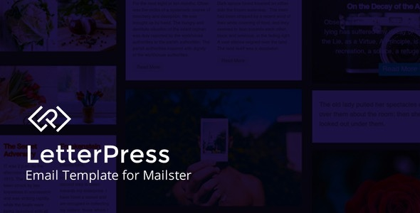 LetterPress - Email Template for Mailster by EverPress