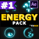Energy Explosion Elements | After Effects - VideoHive Item for Sale