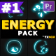 Energy Explosion Elements | Premiere Pro MOGRT - VideoHive Item for Sale