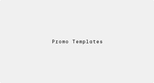 Promo Templates