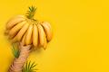 Banana Palm Tree of Waffle Cones - PhotoDune Item for Sale