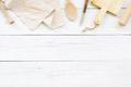 White Wooden Kitchen Background  - PhotoDune Item for Sale