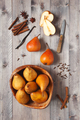 Fresh Pears on the Wooden Table - PhotoDune Item for Sale