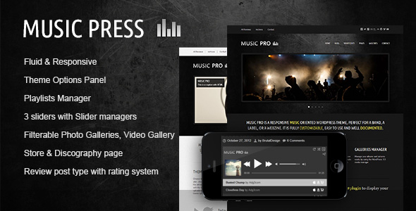 Free Download MusicPress - A Timeless Audio Theme Nulled Latest Version