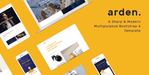 Arden - Multipurpose HTML Template by BootXperts