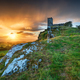 Stormy Sunset over Brentor on Dartmoor - PhotoDune Item for Sale