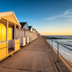 Colorful beach huts on the prom at Southwold - PhotoDune Item for Sale