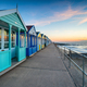 A row of colorful beach huts at Southwold - PhotoDune Item for Sale