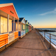 A row of pretty beach huts at Southwold - PhotoDune Item for Sale