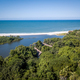 Drone picture of the forest and Indian ocean. - PhotoDune Item for Sale
