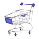 Shopping cart isolated on white background. - PhotoDune Item for Sale