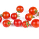 Cherry tomatoes on white background - PhotoDune Item for Sale