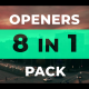 8 Modern Openers Pack - VideoHive Item for Sale