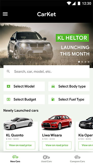 Car Buying App >> Car Buying Selling Comparison Android Ios App Template Html Css Ionic 3 Carket