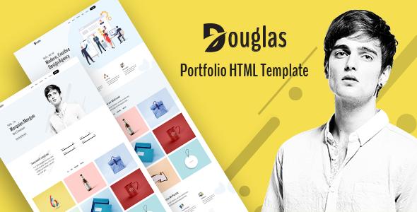 Douglas - Portfolio HTML Template by HasTech