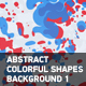 Abstract Colorful Shapes Background 1 - VideoHive Item for Sale