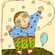 Boy Play Balloon - GraphicRiver Item for Sale